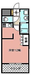 ソレイユII(八幡西区)[107号室]の間取り