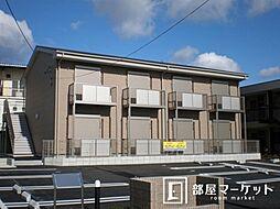 愛知県豊田市大林町10丁目の賃貸アパートの外観