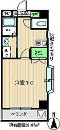 ロイヤルアットハイツ[2階]の間取り
