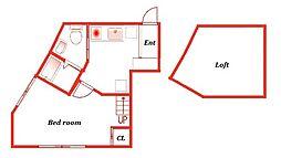 HALE[1階]の間取り