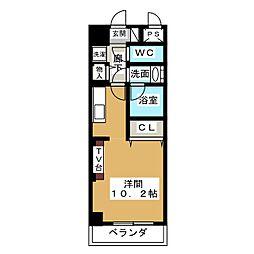 ノヴェル新栄[6階]の間取り