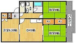 R GARDEN NOZAKI[2階]の間取り
