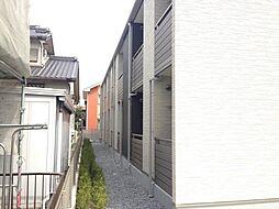 愛知県海部郡蟹江町学戸6丁目の賃貸アパートの外観