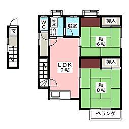 それいゆ7[2階]の間取り