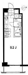 フレンシア麻布十番ノース[2階]の間取り