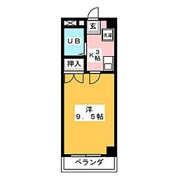 AZALEA2号館[1階]の間取り