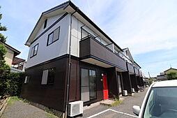 新潟県新潟市西区善久の賃貸アパートの外観