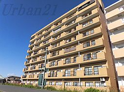 神奈川県横浜市港北区綱島西2の賃貸マンションの外観