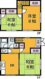 [一戸建] 茨城県つくば市玉取 の賃貸【/】の間取り