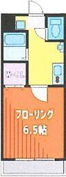 Fille Flats SHINSAYAMA(フィユフラッツ 2階1Kの間取り