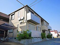 奈良県天理市岩室町の賃貸アパートの外観