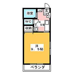 コベントガーデン[2階]の間取り