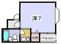 第5浜田ビル[301号室]の間取り