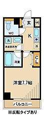 東京都府中市矢崎町2丁目の賃貸マンションの間取り