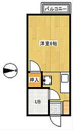 ストリームアリア[2階]の間取り
