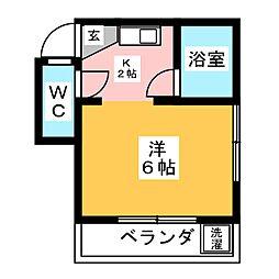 第2いちごハウス[2階]の間取り