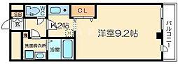 十三本町ウィンズマンション2[6階]の間取り