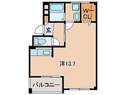 サンワ 浜の宮マンション[4階]の間取り