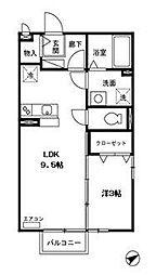 第3サニーサイト[2階]の間取り
