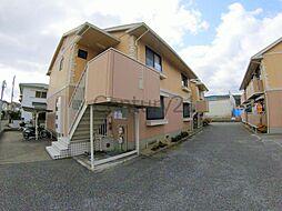 兵庫県川西市西多田2丁目の賃貸アパートの外観