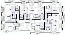 プラザ成城[1階]の間取り