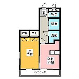 マ・メゾン弐番館[4階]の間取り