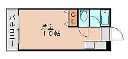 リポーズ310[3階]の間取り