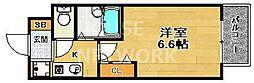 プレサンス京都駅前II[202号室号室]の間取り