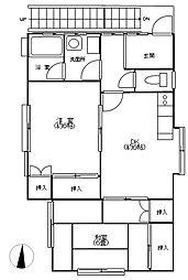[テラスハウス] 神奈川県横須賀市浦賀2丁目 の賃貸【/】の間取り