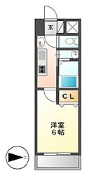 willDo東別院[3階]の間取り