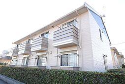埼玉県越谷市新越谷2丁目の賃貸アパートの外観