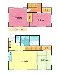 [一戸建] 埼玉県さいたま市浦和区神明2丁目 の賃貸【/】の間取り
