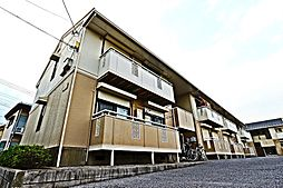 埼玉県越谷市蒲生3の賃貸アパートの外観