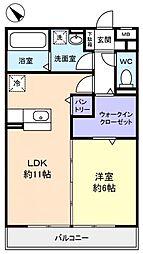 ベルウッド六番館[3階]の間取り