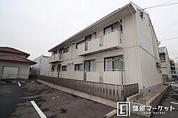愛知県岡崎市竜美南4丁目の賃貸アパートの外観