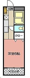 ケントクレール黒崎 502[502号室]の間取り