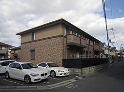大阪府高槻市高垣町の賃貸アパートの外観