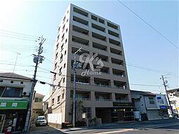 兵庫県明石市鷹匠町の賃貸マンションの外観