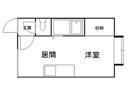 北海道札幌市南区澄川一条2丁目の賃貸アパートの間取り