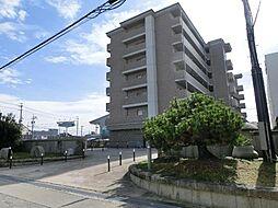 愛知県稲沢市下津町銚子原の賃貸マンションの外観