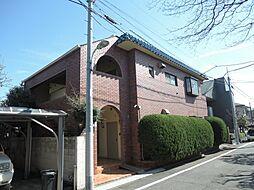 東京都目黒区東が丘2丁目の賃貸マンションの外観