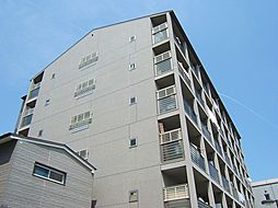 京都府京都市上京区中立売通大宮西入る新元町の賃貸マンションの外観