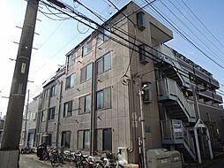 東京都八王子市南新町の賃貸アパートの外観