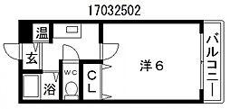メゾンドールバンブーグラス[2階]の間取り