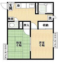 ラークハウス[2階]の間取り