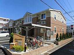 宮崎県宮崎市大和町の賃貸アパートの外観