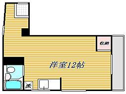 代沢ハウス[2階]の間取り