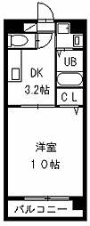 カサグランデ新栄[502号室]の間取り