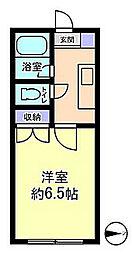 セルーラ呉羽駅前[206号室]の間取り