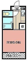 プレアール戸畑駅東[202号室]の間取り